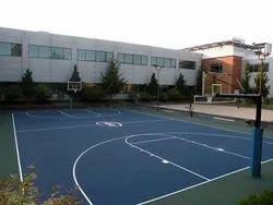 Outdoor Basketball Court Construction, Size/Area: 5000