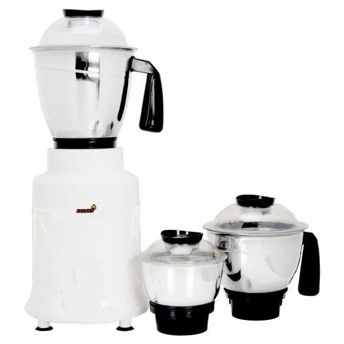 White Keuken Mixer Grinder 500 W Rs 1200 Piece Guransh Engg Works Id 21161074662