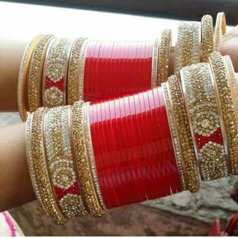 shahihandicraft wedding chura rs 2999 set shahi handicraft id