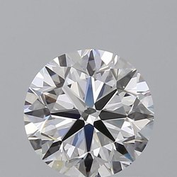 CVD Diamond 1.02ct D SI1 Round Brilliant Cut  HRD Certified Stone