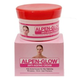 ALPEN-GLOW Anti-Ageing Cream (60 gm), Packaging Type: Cream Jar