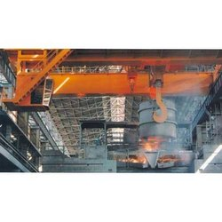 Asian Cranes Double Girder Steel Mill Duty Crane, Travel Speed: 10-15 m/min, Max Load Capacity: 30-40 ton
