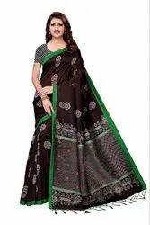 Kalamkari Mysore Silk Sarees