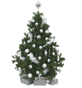 Glass Decorative Christmas Tree