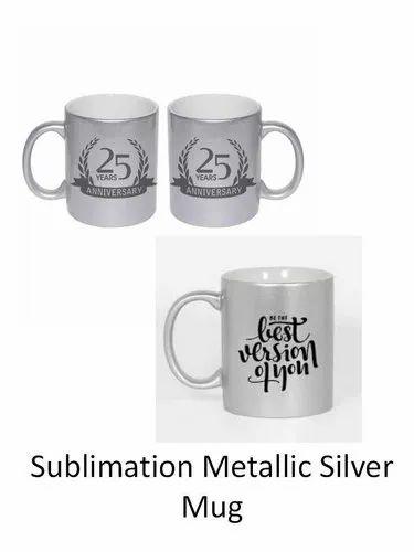 1b17101dbe9 Koncept Sublimation Metallic Silver Mug, Rs 100 /piece, MP ...