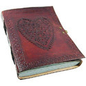 Vintage Handmade Leather Notebook