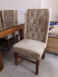 Brown Designer Dining Chair, For Home, Hotel