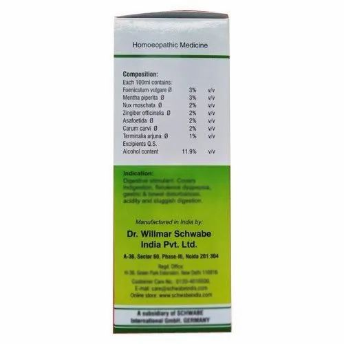 DR.WILLMAR SCHWABE INDIA Homoeopathic Syrup, Pack Size: 100ml