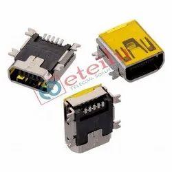 Mini USB AB Type Female