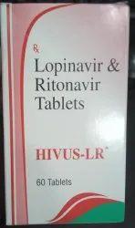HIVUS-LR (Lopinavir200mg& Ritonavir 50mg)