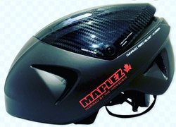 Dual Sports Black MAPLEZ CARBON HELMET