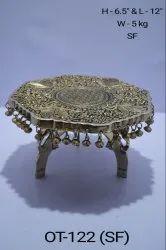 Brass Handicrafted Chowki