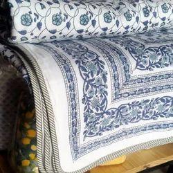 Hand Block Printed Cotton Bed Comforter