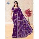 1402 Ladies Designer Cotton Saree