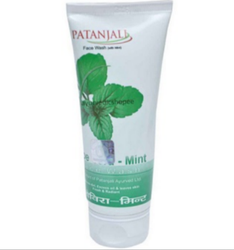 Patanjali Aloe Vera Mint Face Wash for Personal