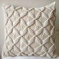 Wholesale Cotton Macrame Cushions Cover Bed Pillow Covers