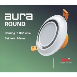 Aura Round LED Downlight Light Housing