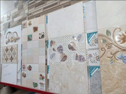 Ceramic Mosaic Multicolor Wall Tile, Thickness: 5-10 mm, Size: 30 * 60 (cm)