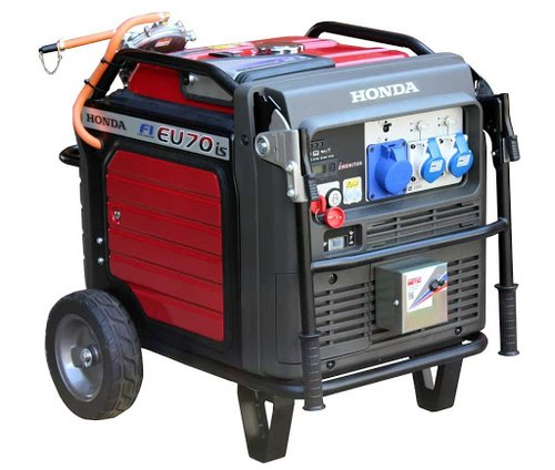 Honda 5 5 Kva Portable Generator Eu70is Specification And Features