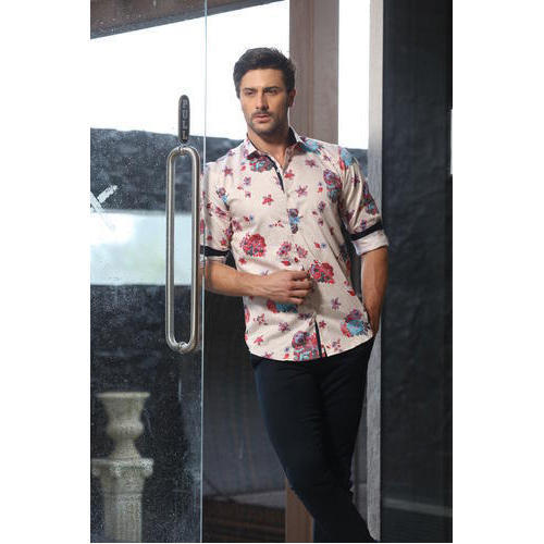 Men  s Linen Club Wear Shirt at Rs 550  piece  0448461a8