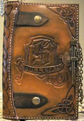 Celtic Goddess Leather Journal