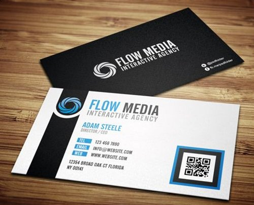 Corporate Front Back Business Card At Rs 720 Cards