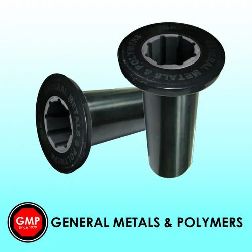 Non Metal Shell Cutlass Rubber Bearing With Flange