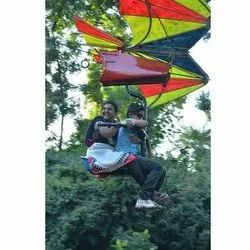 Zip Line With Chair and Wings Ride