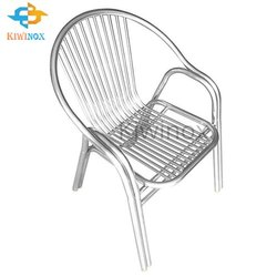 Stainless Steel Railing Chair