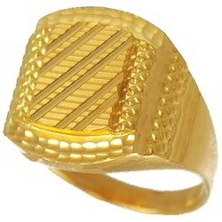 e1bfef68c2dbb Mens Gold Ring - Gents Gold Ring Latest Price, Manufacturers & Suppliers
