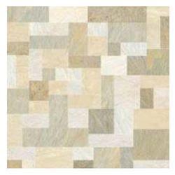 Johnson Rio Cubes Hard Matt Ceramic Floor Tile ज नसन च न