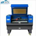 AP-1410 Camera On Head Fabric Laser Cutting Machine