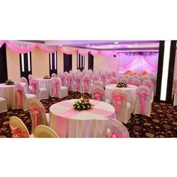 Pink Round Table.Wedding Round Table Linen