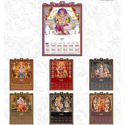 Hindi Offset 20 X 28 Crystal Calendar, For Promotion