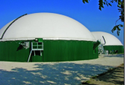 Biogas Double Membrane Digester
