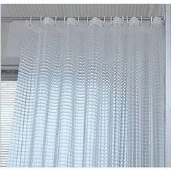 Transparent PVC Shower Curtain, Thickness: 3 Mm
