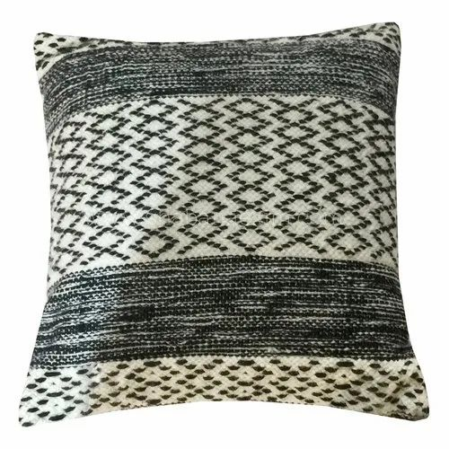 Cotton Woven Handwoven Ethnic Design Pillow Case Couch Cushion Cover