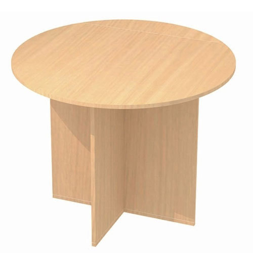 Brown Pre Laminated Particle Board Conference Table