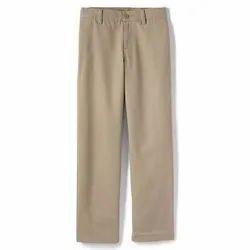 Plain Cotton Uniform Pant