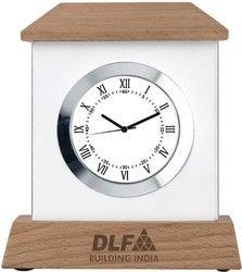 Promotional Wooden Desktop Clock