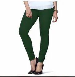 Cotton Lycra Legging For Ladies