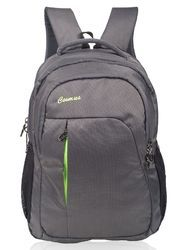 Grey & P. Green Laptop Backpack Bag