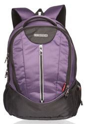 Polyester Purple Dzire Laptop Backpack Bag