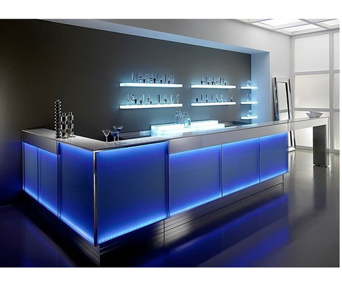 Blue Rectangular Bar Counter Rs 125000 Unit Rekha Equipments Id