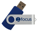 Swivel Promo USB with Logo Imprinted Pen Drive