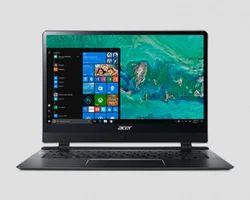 Black Acer Swift 7 Laptop