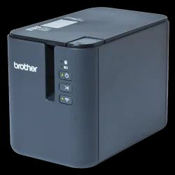 USB ABS Plastic Brother Barcode Label Printer, Tze Tape, Model Name/Number: PT-P900W