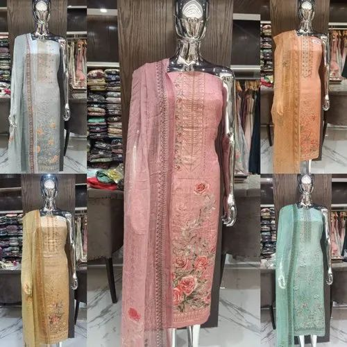 Designer Crape Salwar Suits