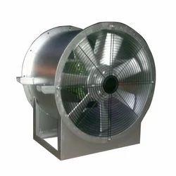 0.75-2 KW Steel Tunnel Ventilation Fan , Voltage : 260V