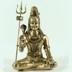 Capstona Brass Shiva Without Base Idols